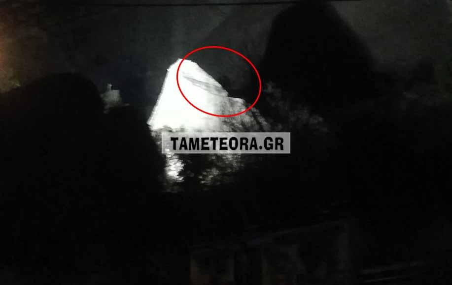 Ελασσόνα: Αποκολλήθηκε βράχος των Μετεώρων και έπεσε κοντά σε σπίτια