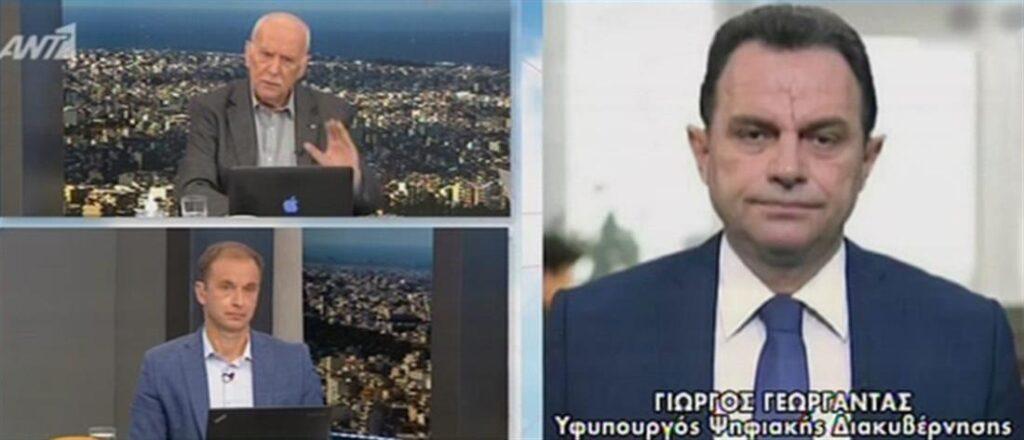 Γεωργαντάς: «Δεν υπάρχει τρύπα στο gov.gr – 23.300 επιβεβαιωμένα θετικά self tests»