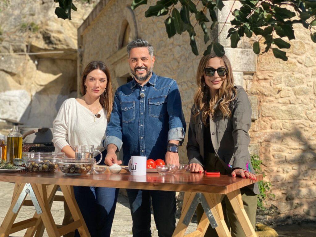 «My Greece»  στο MEGA με την Δέσποινα Βανδή    στην Κρήτη