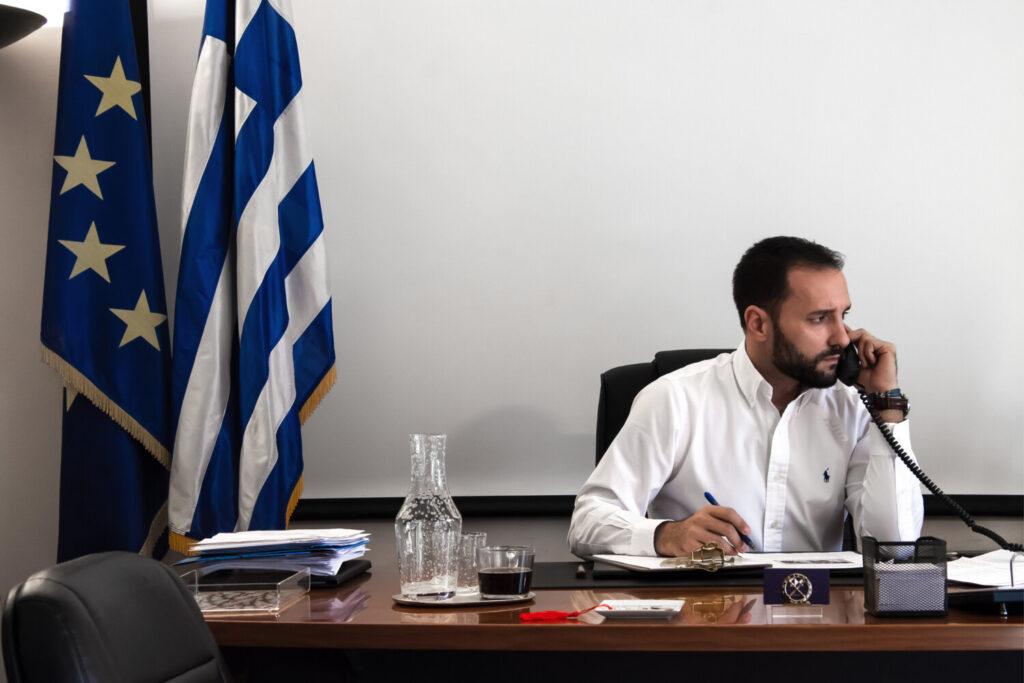 Χαλιορής: «Εργαζόμαστε ώστε το ΟΑΚΑ να γίνει κύτταρο πολιτισμού και αθλητισμού για την Ελλάδα»