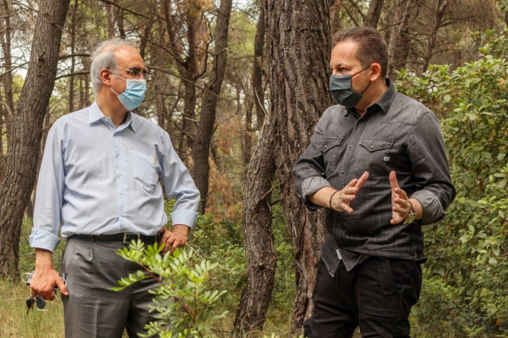 Αυτοψία στα δάση Καστρίτσας και «Φασίδερι»