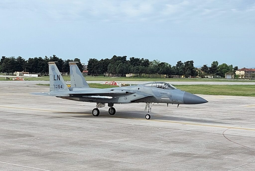 Eνόχληση στην Άγκυρα από τη συμμετοχή αμερικανικών F-15 στην άσκηση «Οργή του Ποσειδώνα» (video)