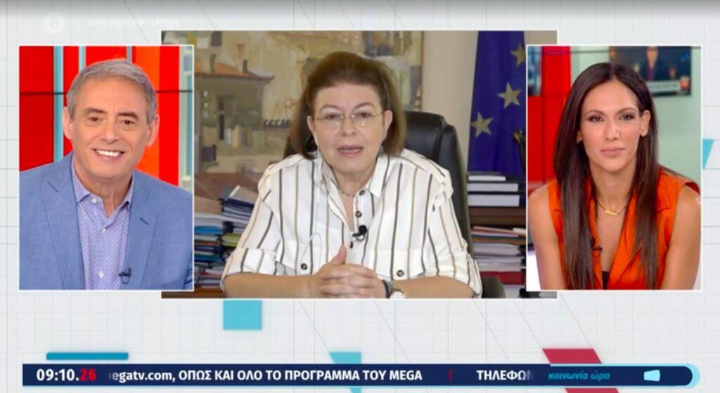 Μενδώνη: Τεράστια διαφήμιση για την Ελλάδα η επίδειξη του οίκου Dior στα μνημεία μας [video]