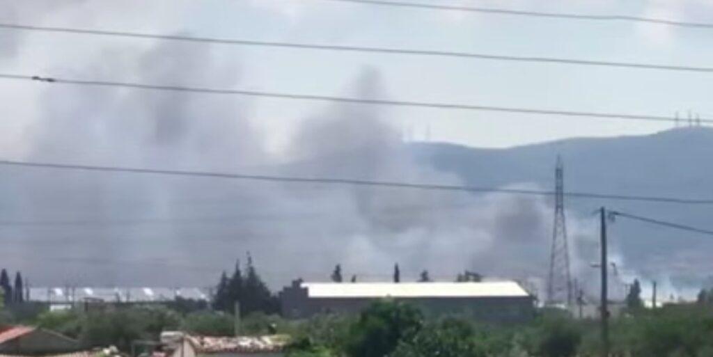 Φωτιά σε βυτιοφόρο στον Ασπρόπυργο – Ακούγονται εκρήξεις – Έκλεισαν δρόμοι (video)