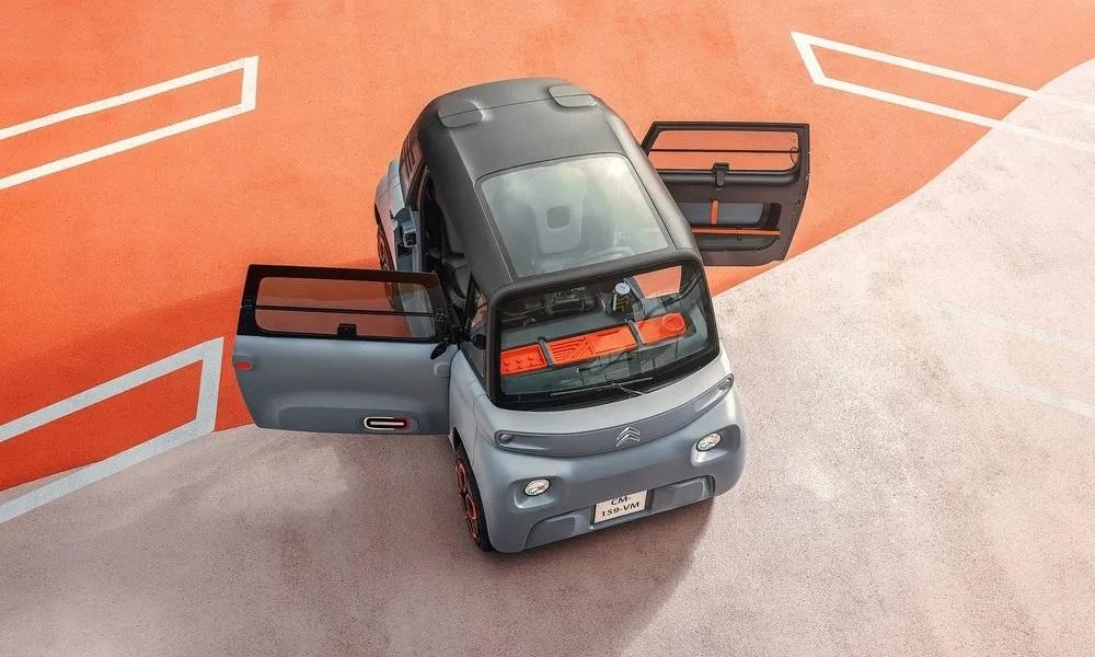 Citroen Ami: Μικρό και ηλεκτροκίνητο για μετακινήσεις στην πόλη  (video)