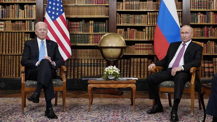 Ολοκληρώθηκε νωρίτερα από το αναμενόμενο η συνάντηση Μπάιντεν-Πούτιν – Θετικές οι πρώτες ενδείξεις