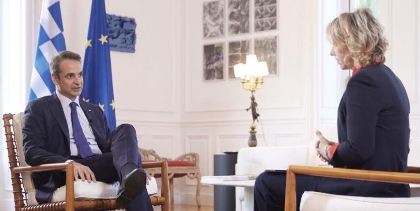 Μητσοτάκης στο «France 24»: «Ό,τι συμβαίνει στην Ανατολική Μεσόγειο έχει επιπτώσεις και στη σχέση Τουρκίας και Ε.Ε