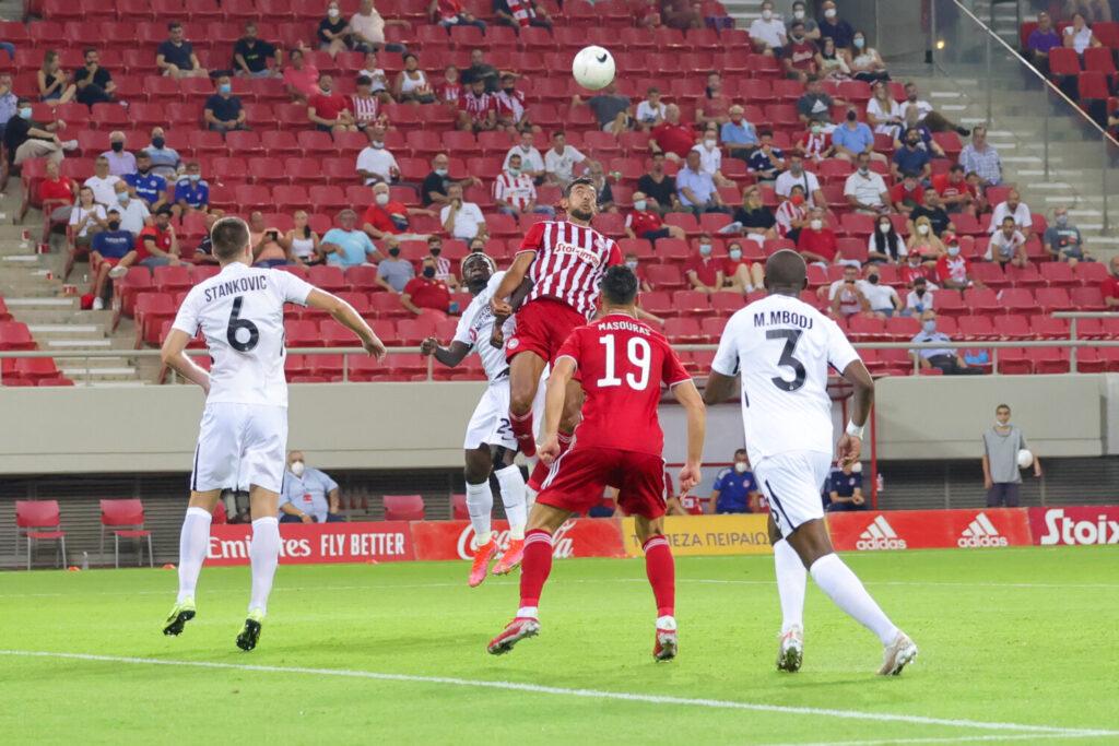Ολυμπιακός – Νέφτσι 1-0: Πρώτο βήμα για την πρόκριση με γκολ του  Καμαρά