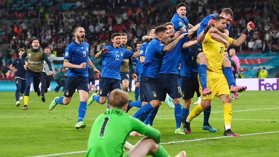 Euro 2020: It's going to Rome! – Η Ιταλία νίκησε την Αγγλία στα πέναλτι και πήρε τον τίτλο