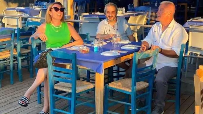 Τατιάνα Στεφανίδου: Σε ποιο νησί βρίσκεται το αγαπημένο της ταβερνάκι;