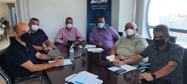Φαρμάκης: Περιφέρεια, Πανεπιστήμιο, ΤΕΕ κα ΓΕΩΤΕΕ ενώνουν δυνάμεις και γνώσεις  για την διαχείριση της κρίσης
