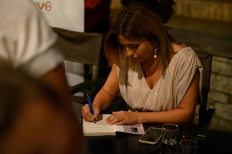 Αρετή Χαρτοφύλακα: Η συγκινητική παρουσίαση του βιβλίου της, «Αληθινές γυναίκες» [εικόνες]