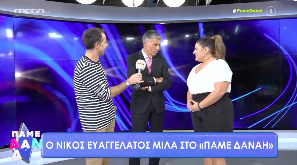 Νίκος Ευαγγελάτος: «Αυτό που με ελκύει ιδιαίτερα είναι η είδηση» [βίντεο]