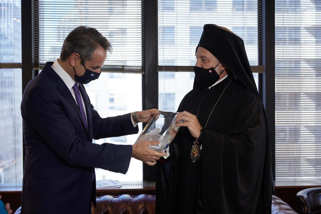 Συνάντηση  Μητσοτάκη  με   Ελπιδοφόρο: «Το θέμα είναι λήξαν» λέει κυβερνητική πηγή (εικόνες&Βίντεο)