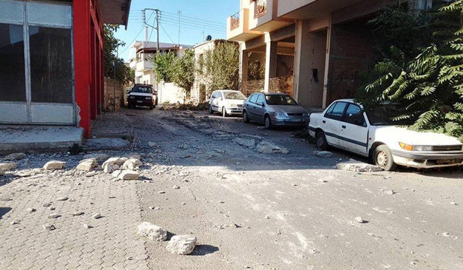 Σεισμός στο Ηράκλειο Κρήτης: «Να παραμείνουν έξω οι κάτοικοι, μεγαλύτερος από ό,τι περιμέναμε»