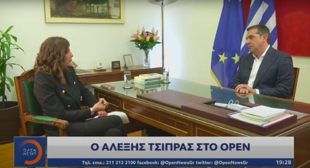 Τρίτο το δελτίο του ΟPEN με τη συνέντευξη του Αλέξη Τσίπρα