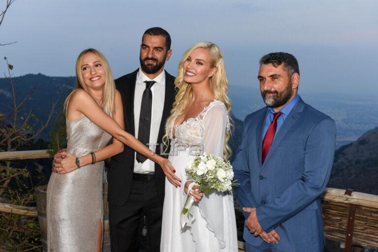 Η Τζούλια Νόβα παντρεύτηκε τον αγαπημένο της Μιχάλη Βιτζηλαίο – Δείτε βίντεο από την πανέμορφη τελετη