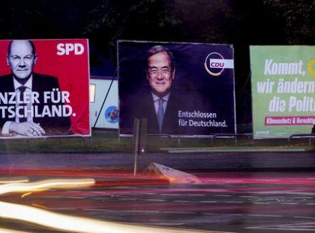 Γερμανικές εκλογές:  Αυξάνεται το προβάδισμα  του Σόλτς έναντι του Λάσετ