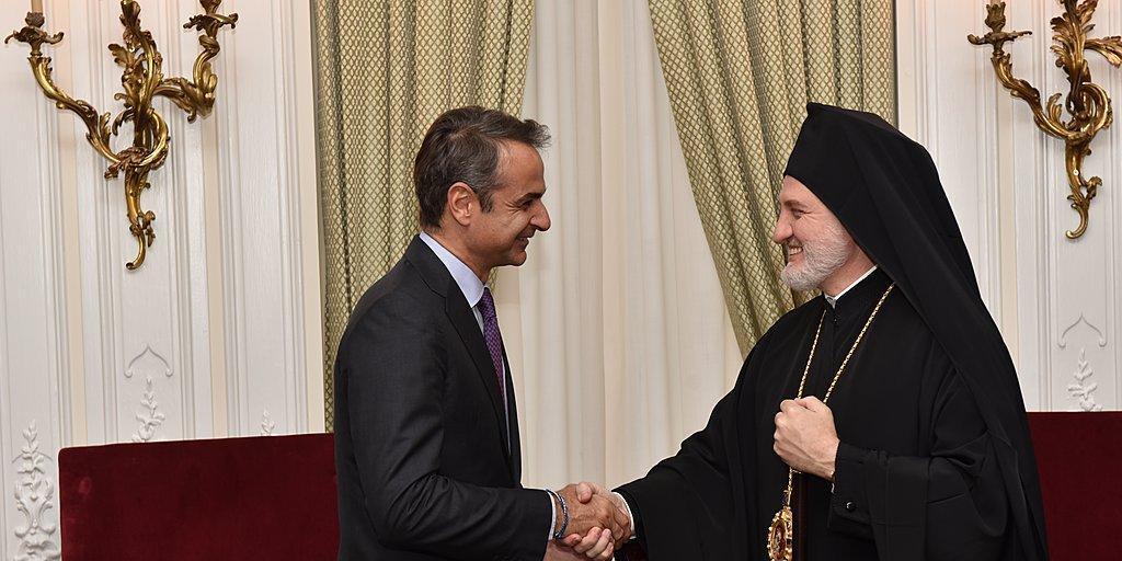 Ο πρωθυπουργός ακύρωσε τη συνάντηση με τον Αρχιεπίσκοπο Αμερικής στο «Ground Zero»